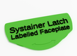 Customizable Systainer Labelled Faceplate